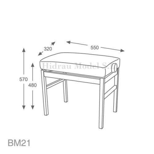 banqueta piano